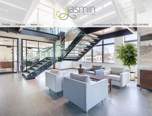 Julie Jasmin Interior Design Website