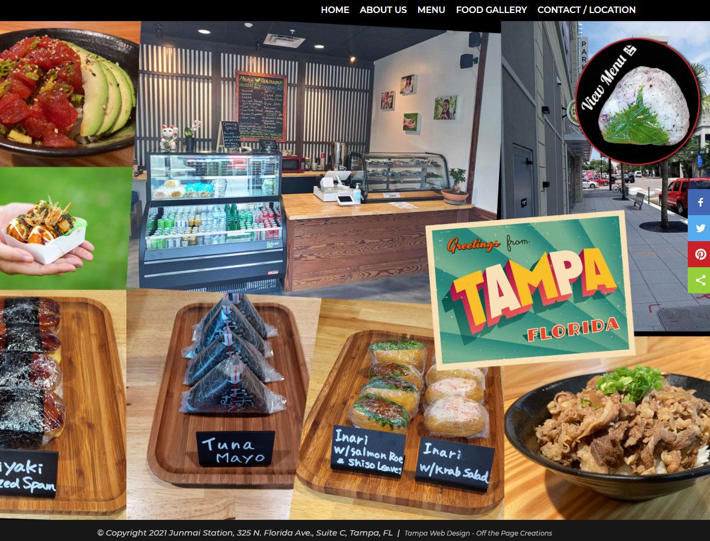 junmai station restaurant website