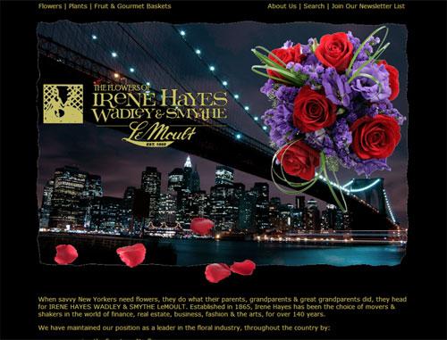 Irene Hayes Florist Website