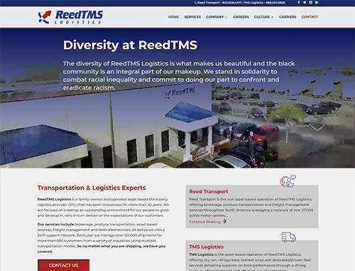 ReedTMS Logistics website